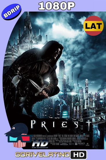 Priest : El Vengador (2011) UNRATED BDRip 1080p Latino-Ingles MKV
