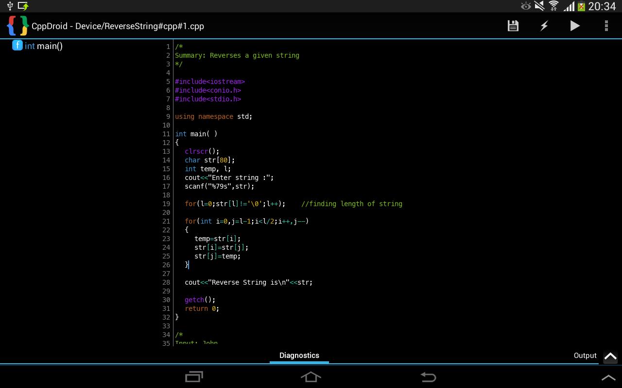 C Roid Development IDE