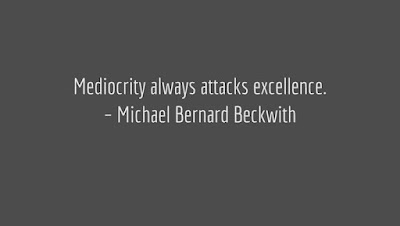 Mediocrity Excellence Quotes