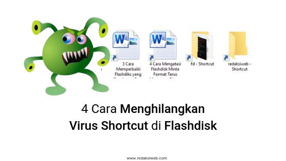 4 Cara Menghilangkan Virus Shortcut di Flashdisk [Panduan Pemula]