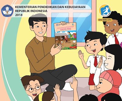 Buku K13 SD Revisi 2018 Semester 1 Untuk Guru dan Siswa