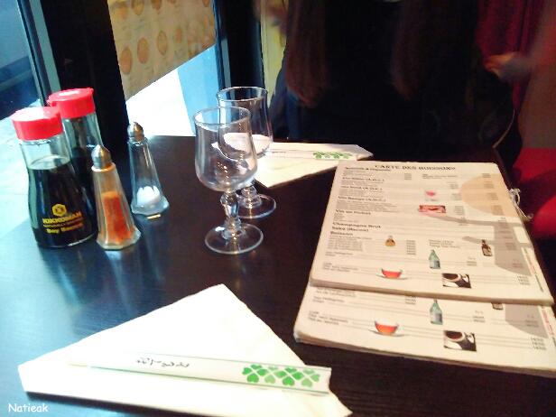 restaurant japonais et chinois Paris