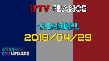 IPTV French M3U Gratuit Iptv4world 29/042019