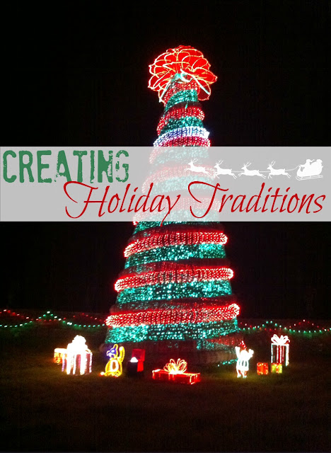 Why it's important to create your own holiday traditions with your family