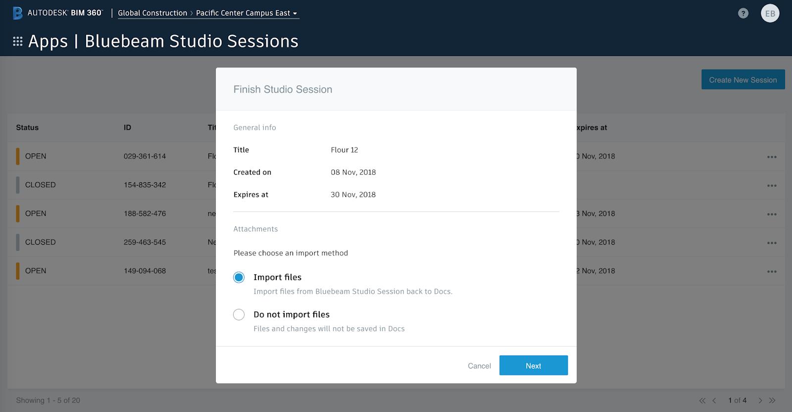 Revit Add-Ons: Bluebeam Studio Sessions for BIM 360