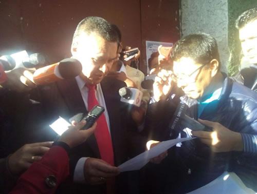 Aprehensión del abogado Leon por caso Zapata