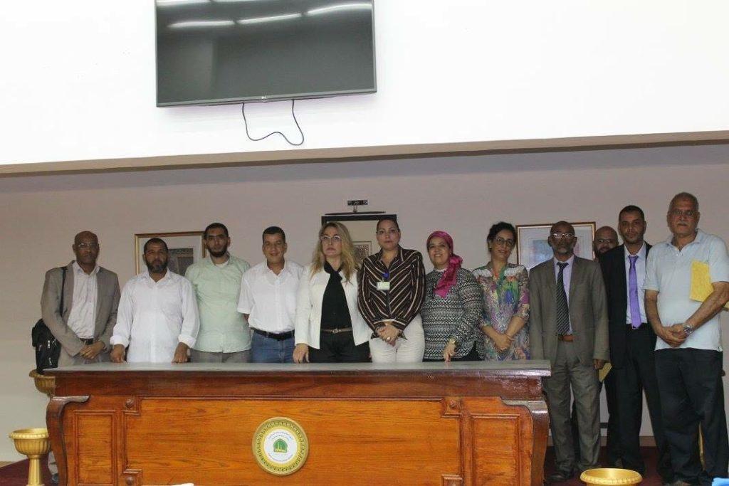 المرصد الدولي للاعلام و الدبلوماسية الموازية يكرم عدة شخصيات بمعهد الدراسات الإسلامية بالجيزة