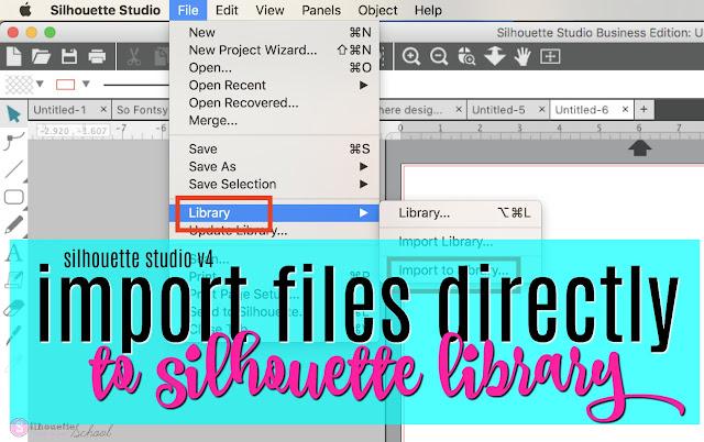 silhouette cameo library, silhouette studio library, silhouette library designs, silhouette design library, Silhouette Studio designer edition tutorials