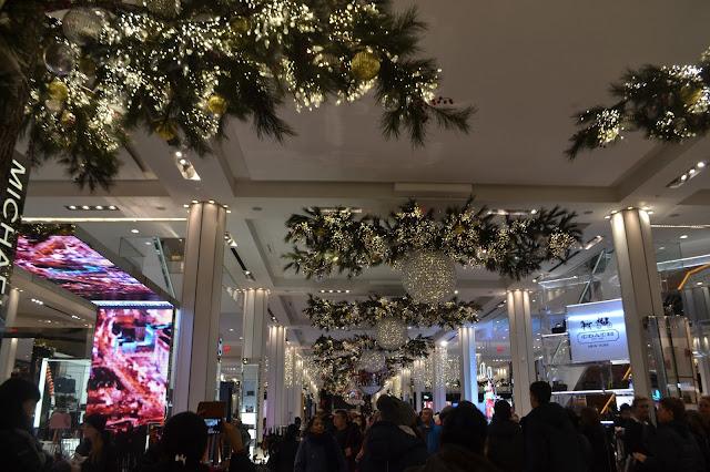 Christmas store decor
