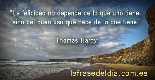 Frases motivadoras de Thomas Hardy