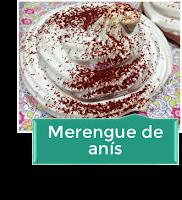 MERENGUE DE ANÍS
