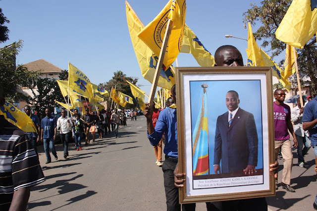 Marche de soutien à Lubumbashi
