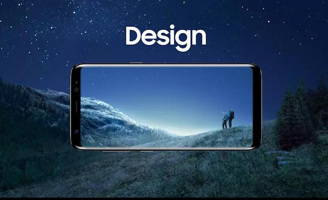 desain Samsung Galaxy S8