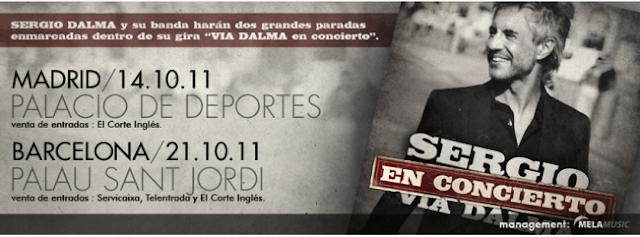 Entradas para el concierto de Sergio Dalma en Madrid
