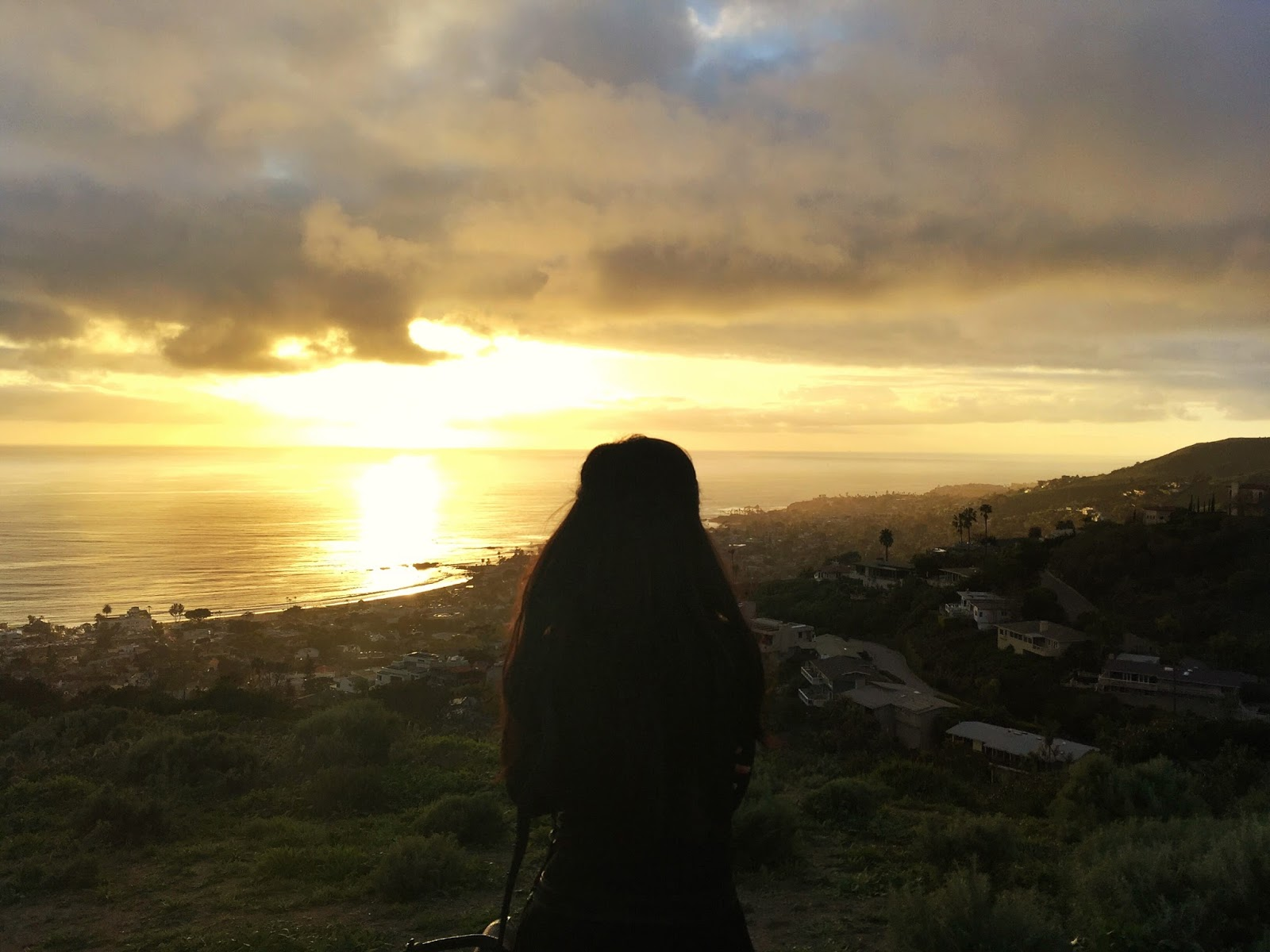 Adrienne Nguyen_Fashion Blogger_Sunset in Laguna Beach_From Above_Photographer_Ocean_California Beaches_Invictus