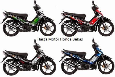 Review Kisaran Harga Motor Honda Bekas Awal Januari Tahun 2018