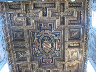 Santa Maria in Aracoeli's Ceiling - by Madder Hatter