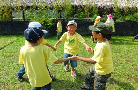 kids outbound anak bandungan