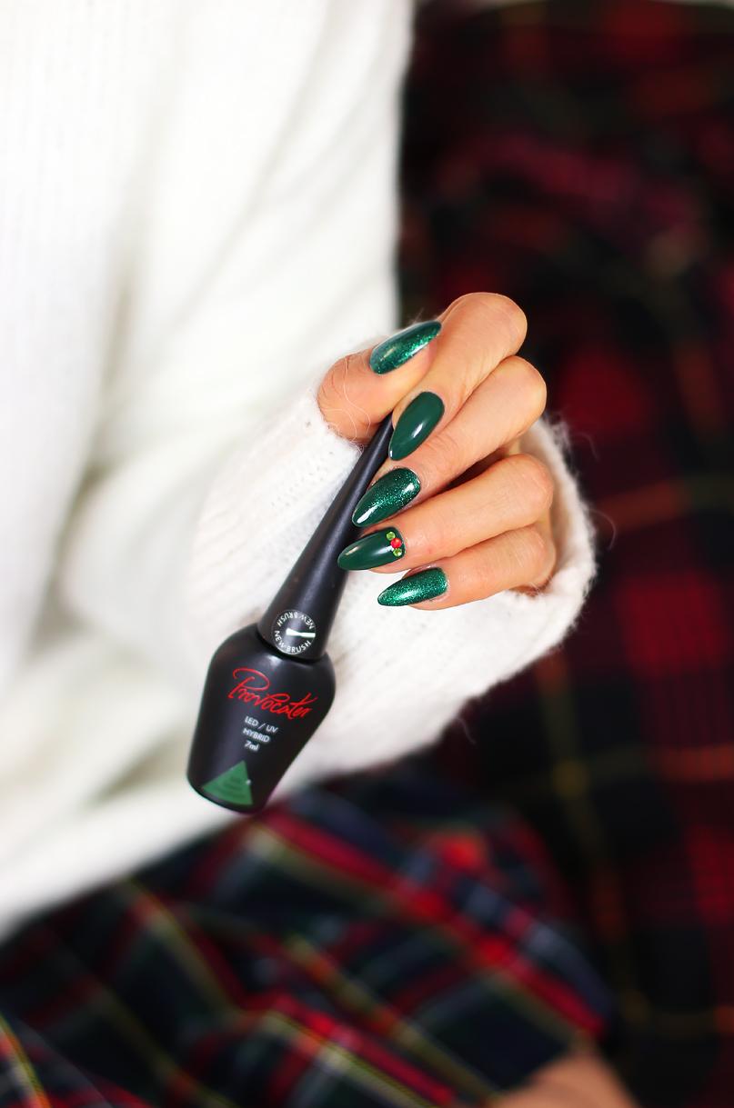 Alina Rose Blog Kosmetyczny Mój świąteczny Manicure