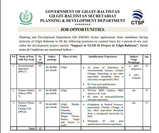 govt-of-gilgit-baltistan-secretariat-jobs-august-2020-application-form