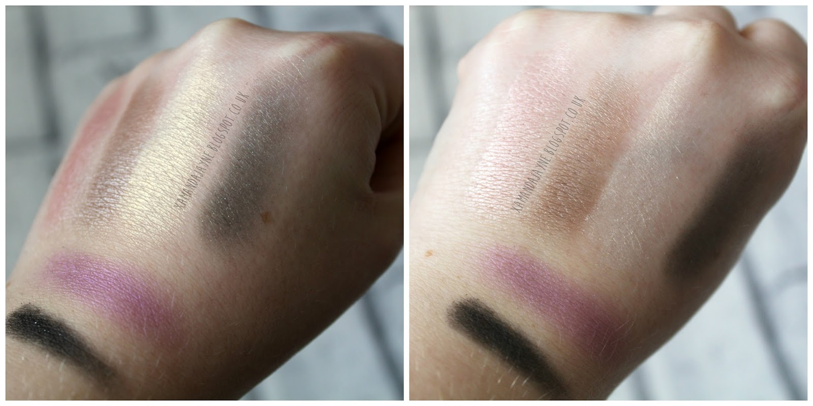 cargo cosmetics, shanghai night palette, high-end beauty, eyeshadow palette, review, swatches