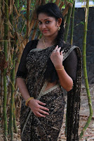 Tamil Actress Sri Priyanka Pos in Saree at Pichuva Kaththi Tamil Movie Audio Launch  0006.JPG