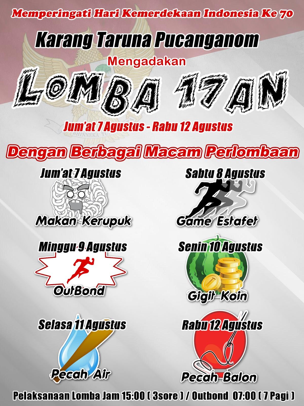 Contoh Banner Lomba Menyambut Peringatan Hari Kemerdekaan Indonesia