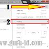 Cara Menghapus History Atau Riwayat Penelusuran di Google Chrome Versi baru