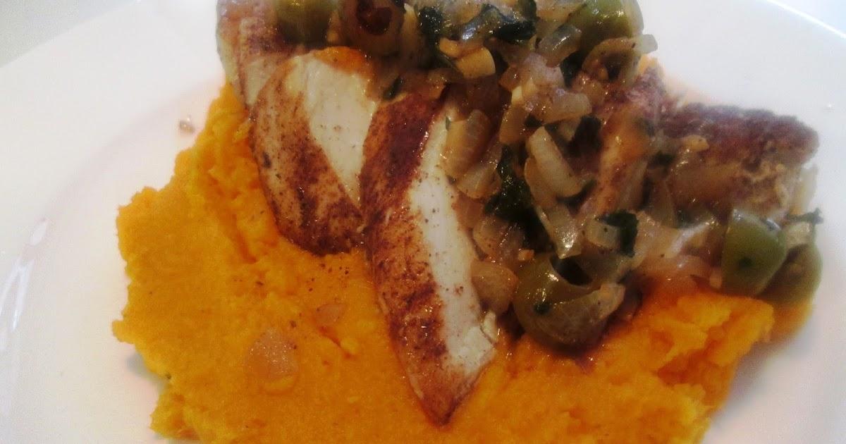 En verden af smag!: Marokkansk Kylling med Sød Kartoffelmos