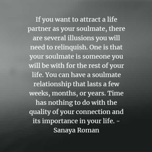 Losing quotes soulmate about your 80 Best