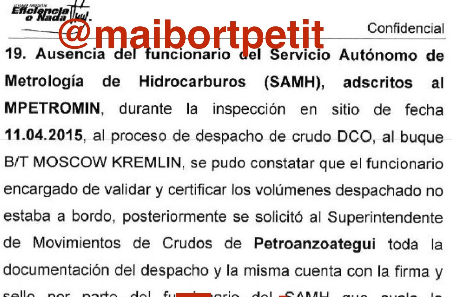 Detienen a gerente de petrolera venezolana PDVSA
