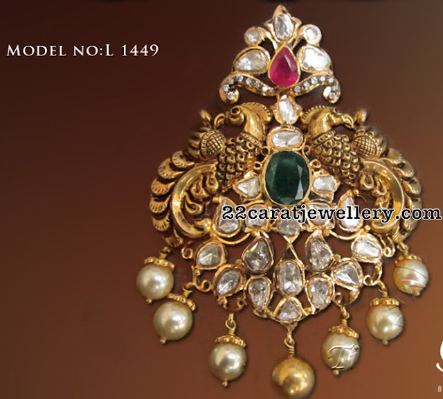 Pachi Pendant Sets by Tibarumal Jewellers