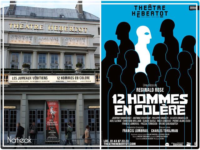 Théâtre Hébertot: 12 hommes en colère