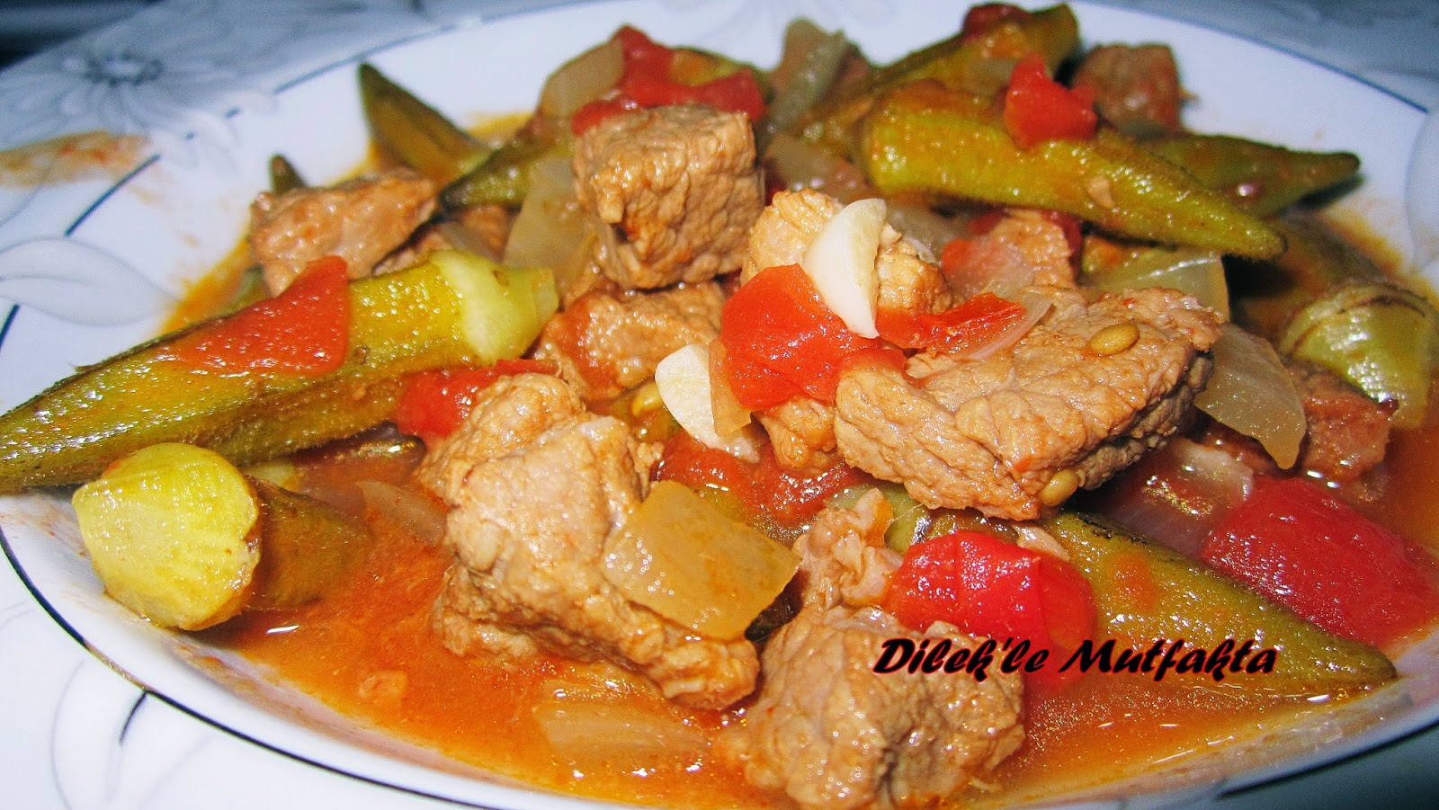 Etli Taze Bamya