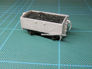 L & B wagon kit in 009 scale from Dundas models.