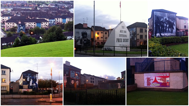 murales de Londonderry Derry