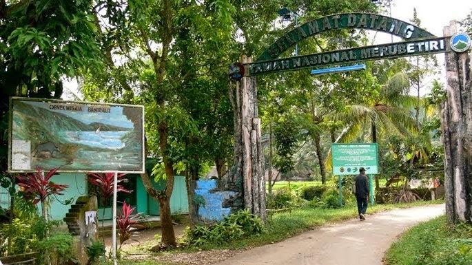 Taman Nasional Meru Betiri, Banyuwangi, Jawa Timur.