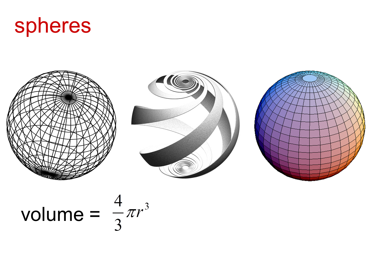 Median Don Steward Mathematics Teaching Sphere Volume