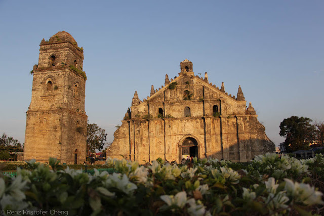The Paoay Church in Ilocos