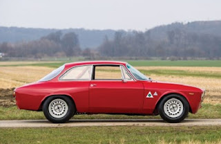 1965 Alfa Romeo Giulia Sprint GTA Side Right