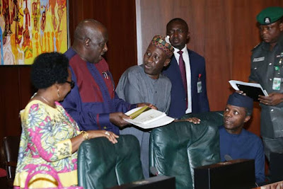 Photographs: Osinbajo managesemergency Federal Executive Council meeting