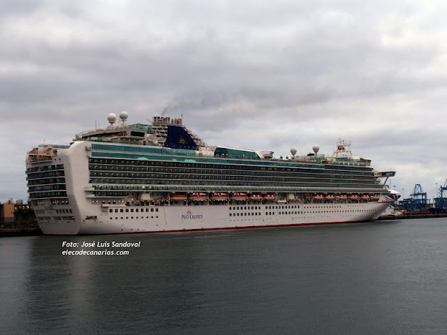 Vídeo y fotos crucero Ventura Las Palmas 3 julio 2016