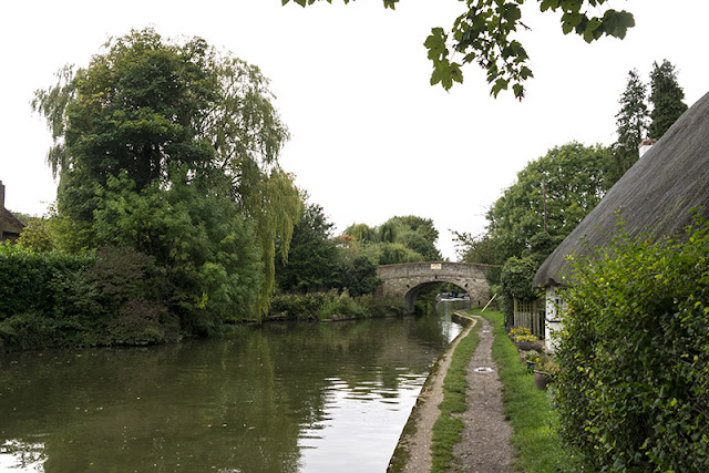 Dull skies over the canal