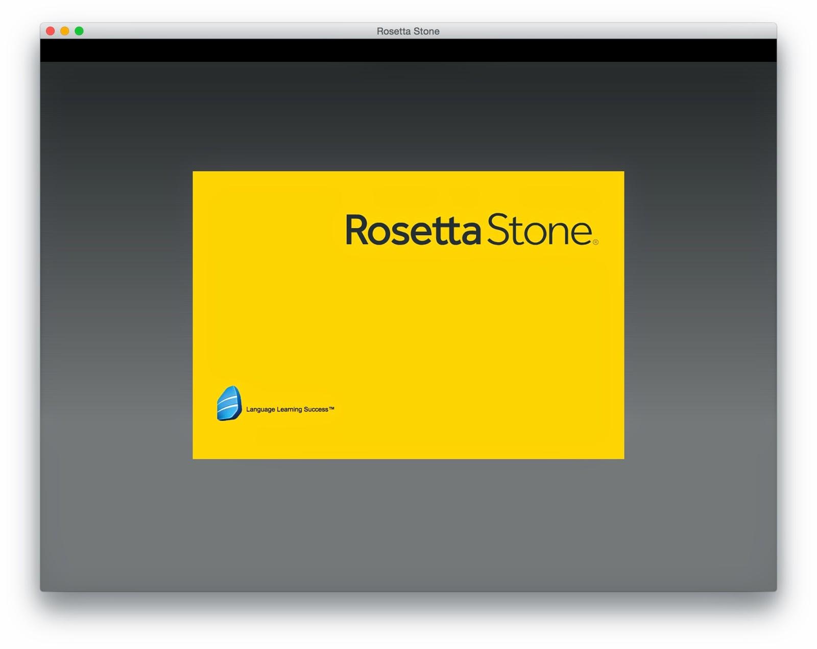 rosetta stone full para mac