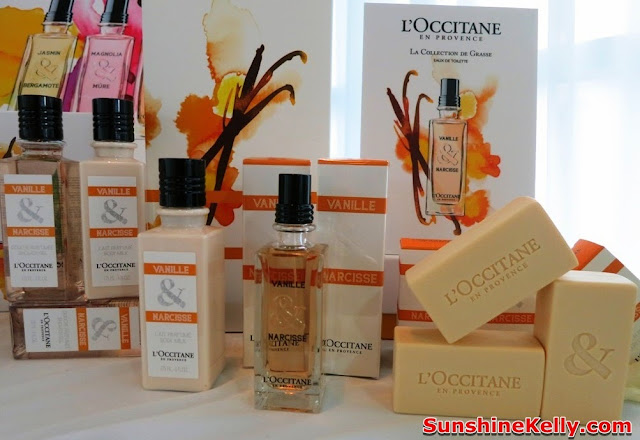 L'Occitane La Collection de Grasse Fragrance, Vanille & Narcisse, L'Occitane, Fragrance, new products