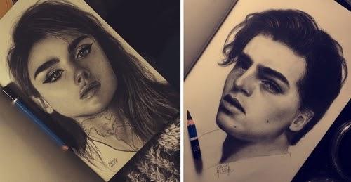 00-Zahraa-AlQallaf-Find-Escapism-in-Drawing-Portraits-www-designstack-co