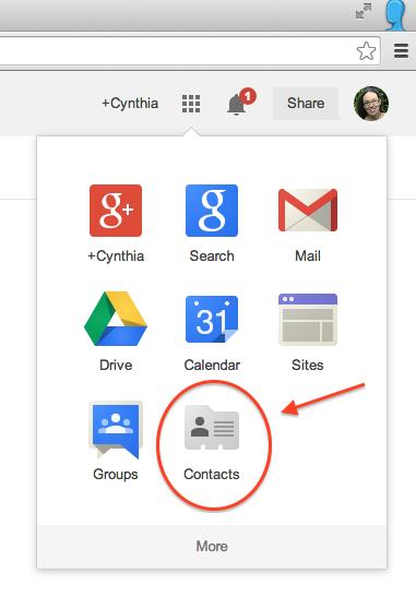 TeachingTechNix: Create a Group in Google Contacts