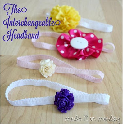 Interchangeable Headbands Tutorial