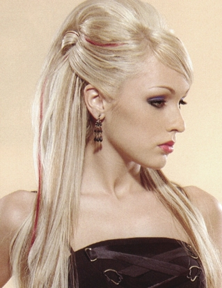 Great Hairstyles: Half Up Half Down Prom Hairstyles: Red ...