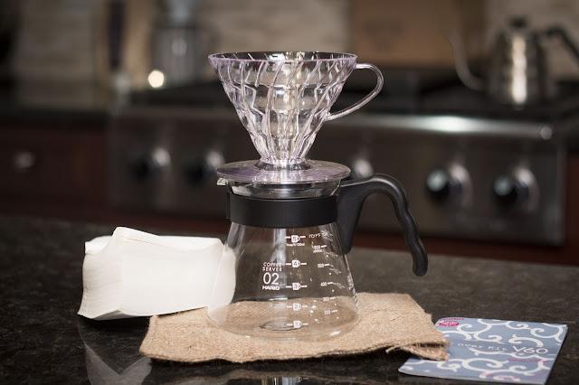 Bagaimana cara menyeduh kopi menggunakan v60 ?